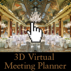 Plan your event with 3D Virtual Meeting Planner